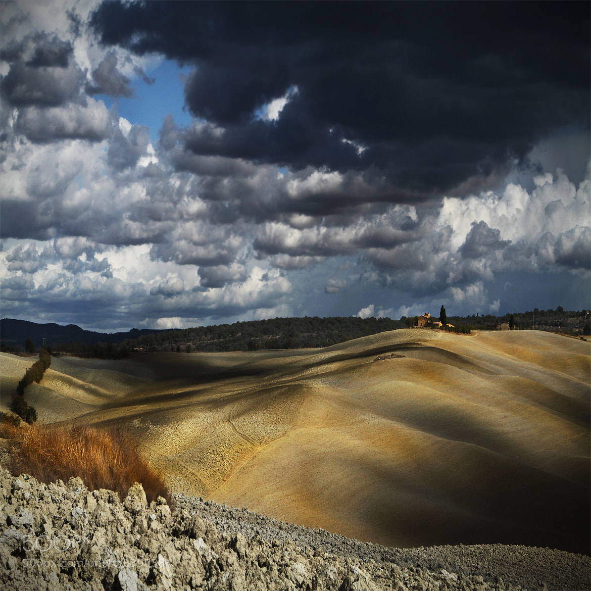 Photograph A turbulent day in Tuscany .. by Edmondo Senatore on 500px