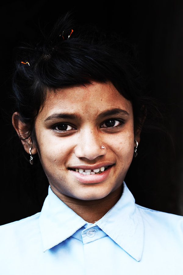 Schoolgirl from Kathmandu