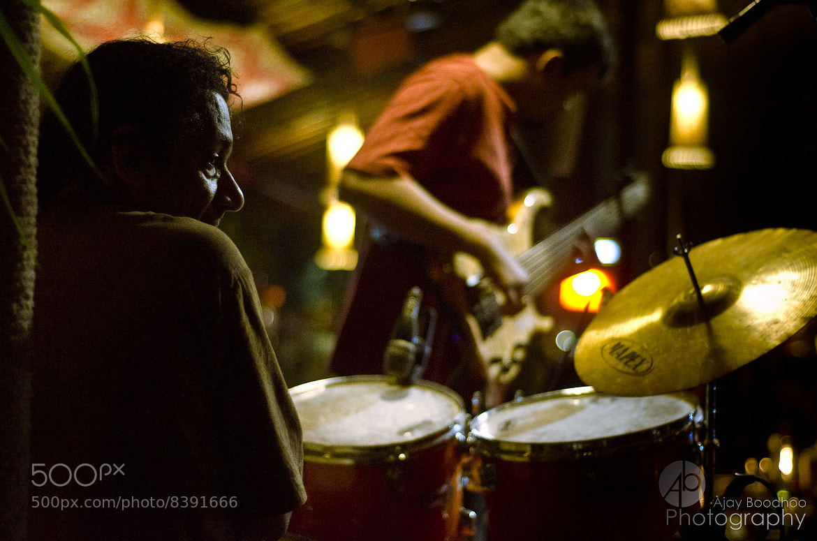 Photograph William D'Souza on the drums by Ajay Boodhoo on 500px