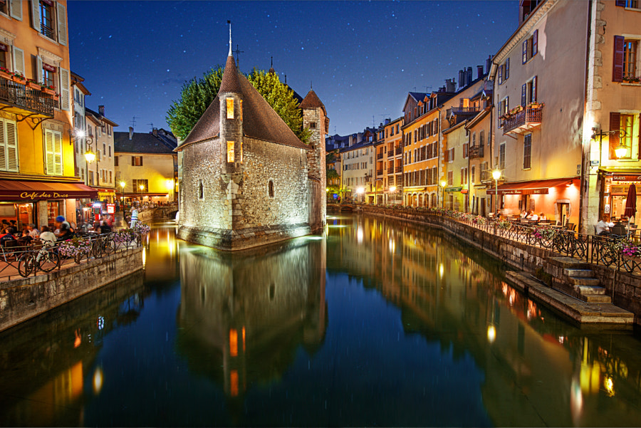 Starry Night in Annecy