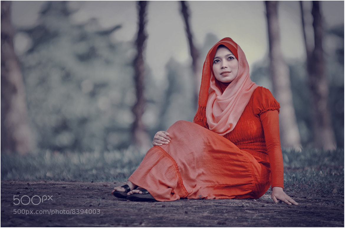 Photograph The Lady in RED 3 by Azlan Mohamad on 500px