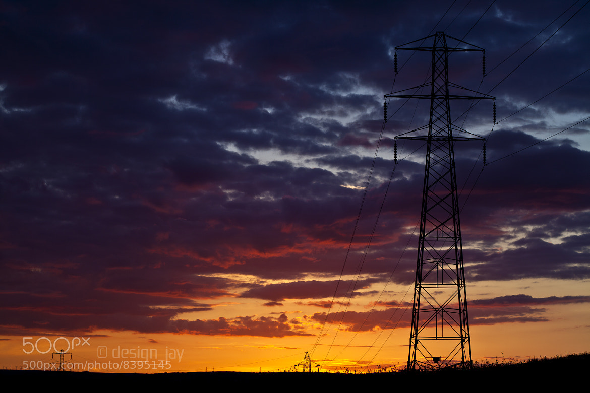 Photograph Dusk pylon by Jason Stephenson on 500px