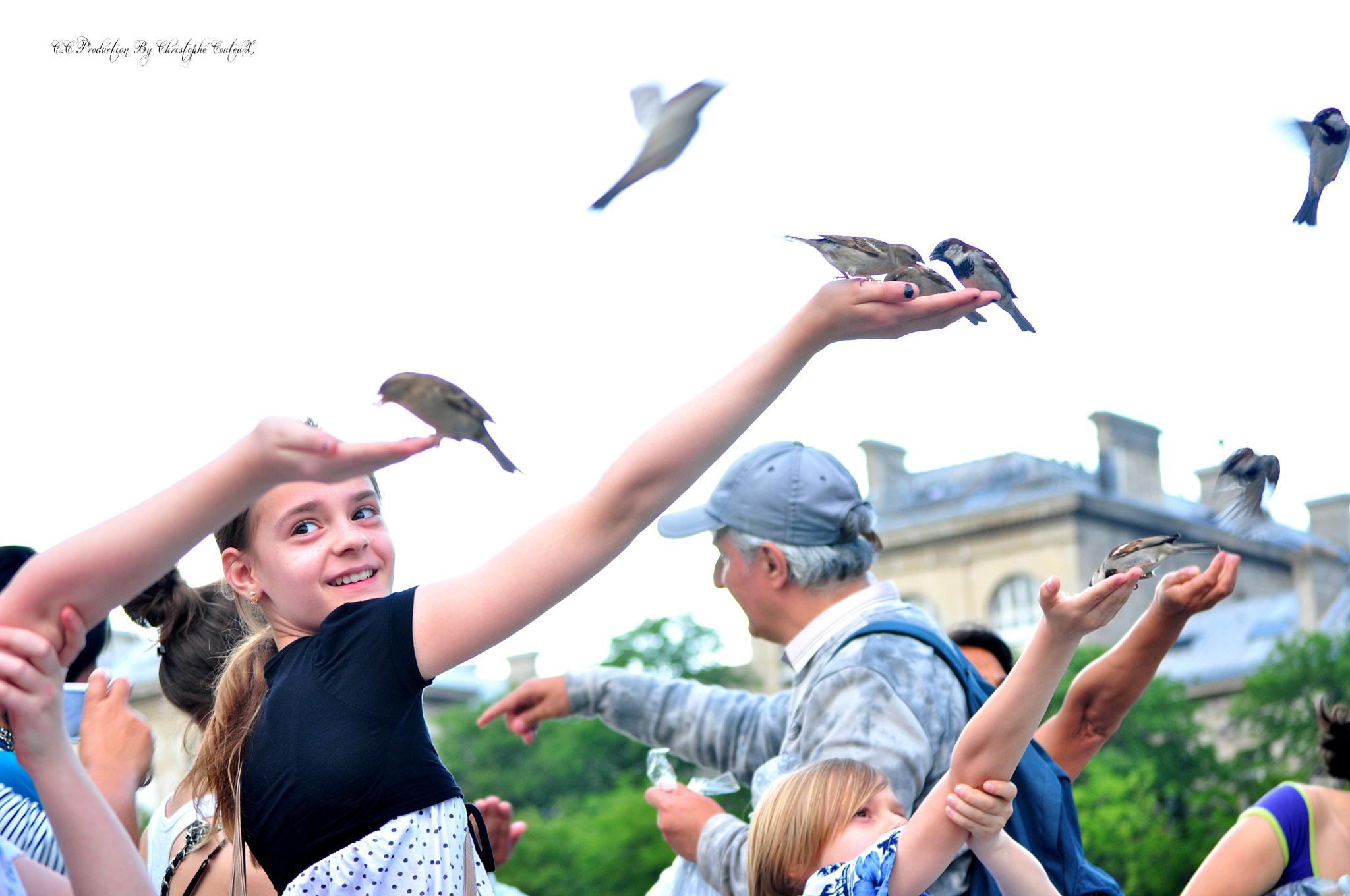Photograph birds and childhood by C.C Production By Christophe Couteux Christophe Couteux on 500px