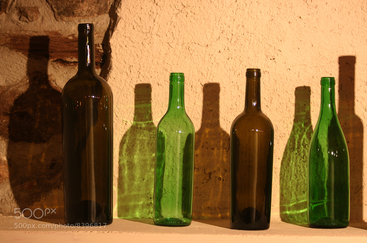 Photograph Bottles by Enric Santiañez Tió on 500px