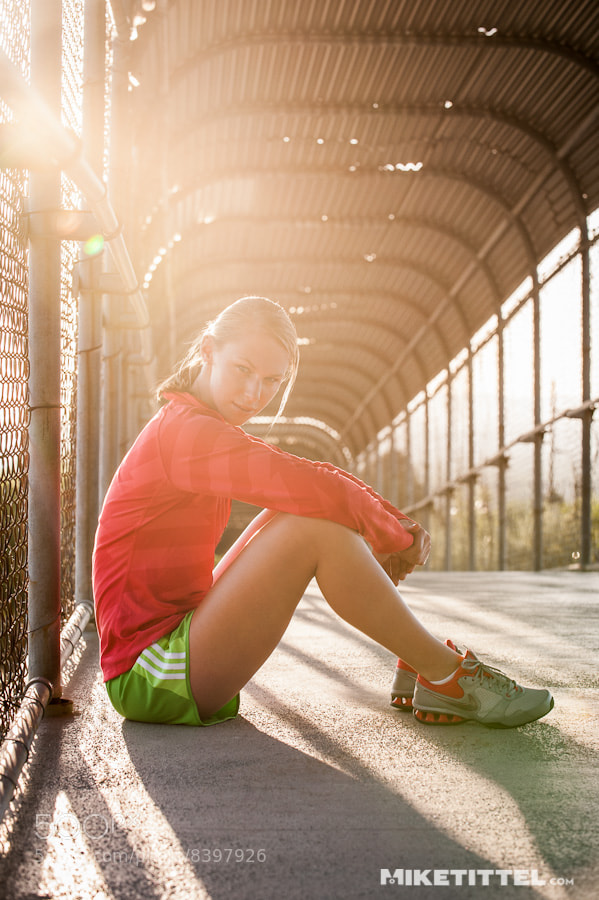 Photograph Athlete Portrait - Ellen by Mike Tittel on 500px