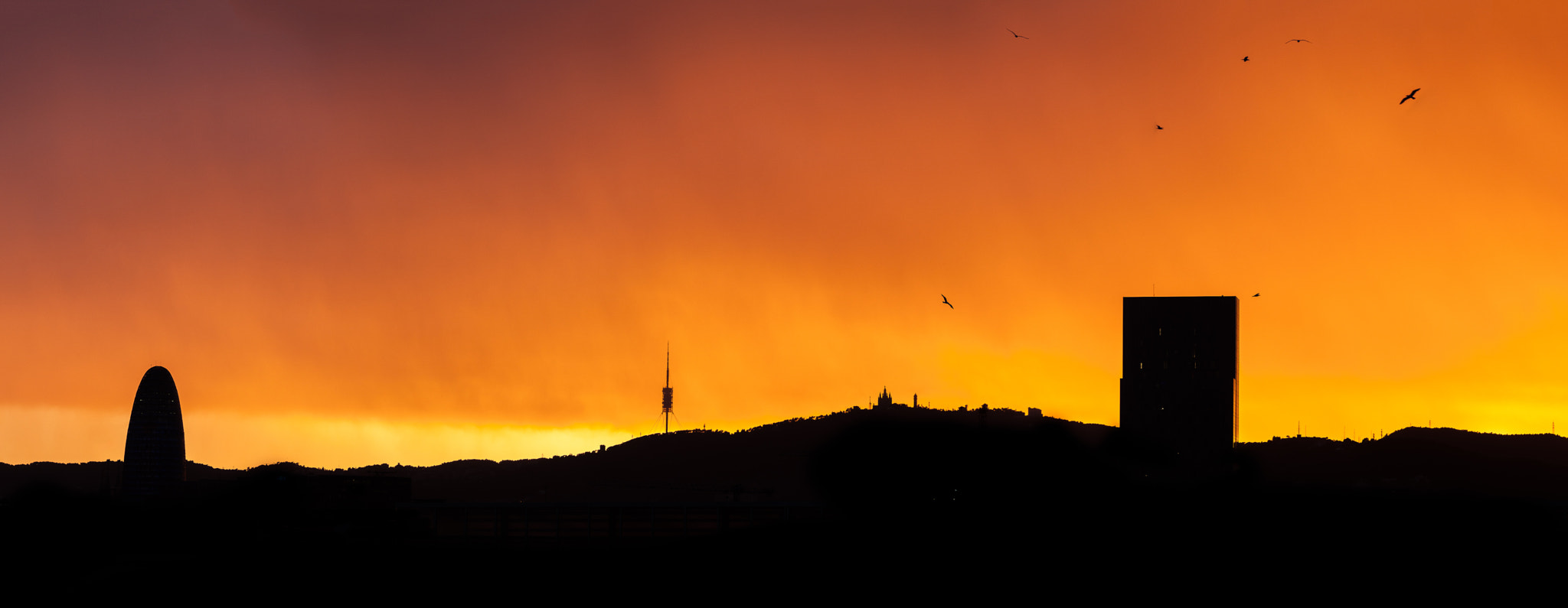 Photograph Barcelona's Sunset by Victor Garcia Castanera on 500px