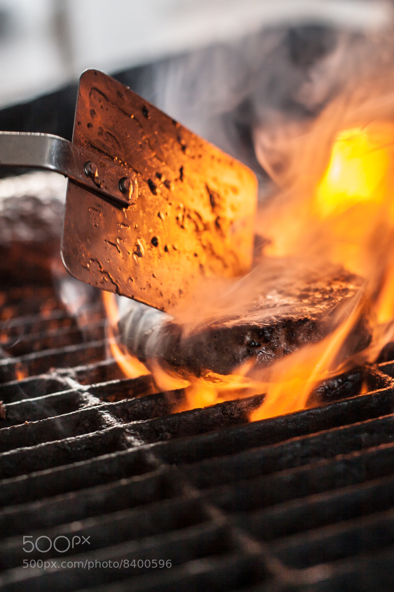 Photograph Flaming burger by John Uhrig on 500px