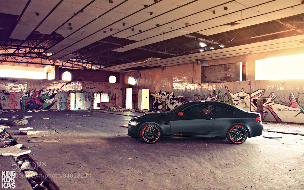 Photograph BMW M3 e92 // Black Matt by Giannis Kokkas on 500px