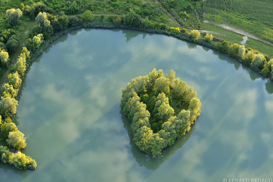 Photograph Heart Trees Island by Arnaud Nedaud on 500px