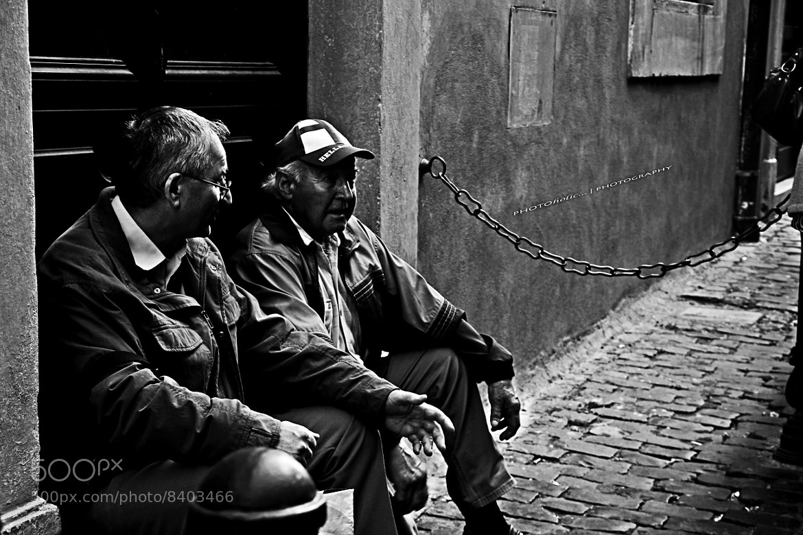 Photograph Italian chatting by Putra Tashmil on 500px