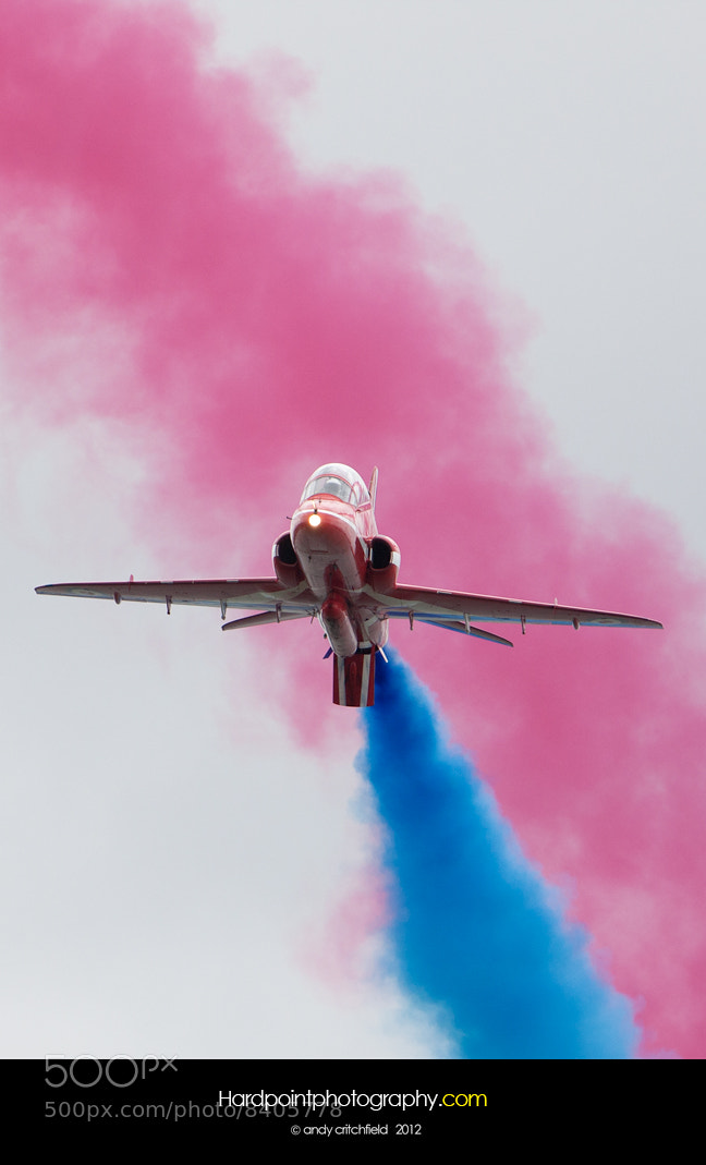 Photograph Red Arrows by Hardpoint Photography on 500px