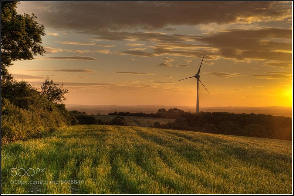 Photograph Glyndebourne turbine... by Adrian Backshall on 500px