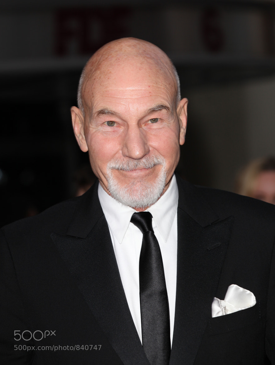 Photograph Patrick Stewart (Actor) by stage shoot on 500px