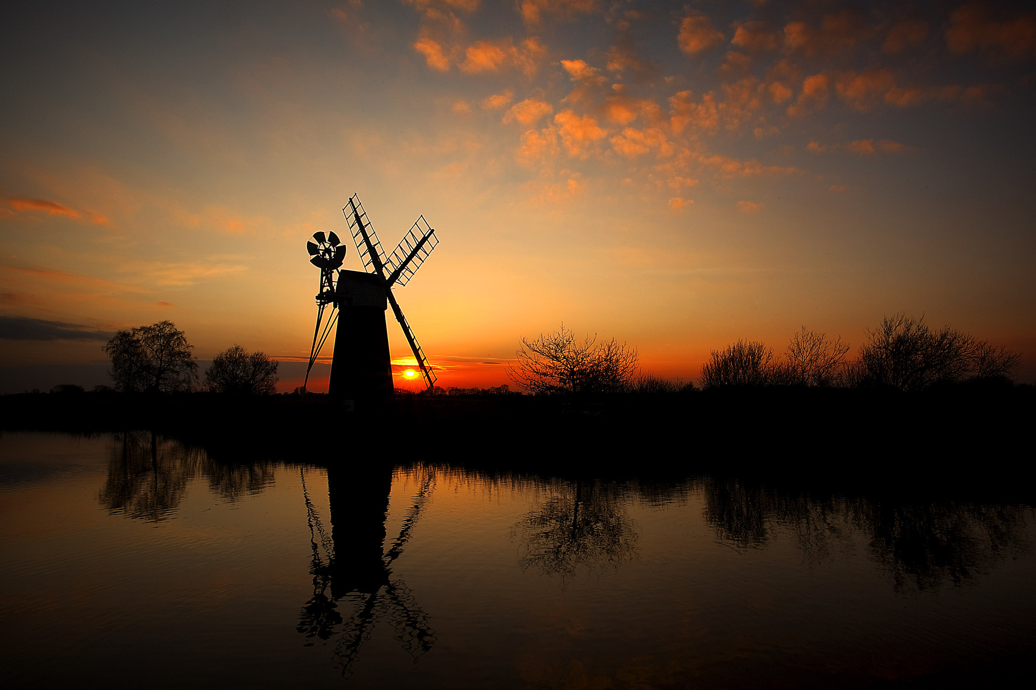 Photograph Sunset at How Hill by Norfolk Images on 500px