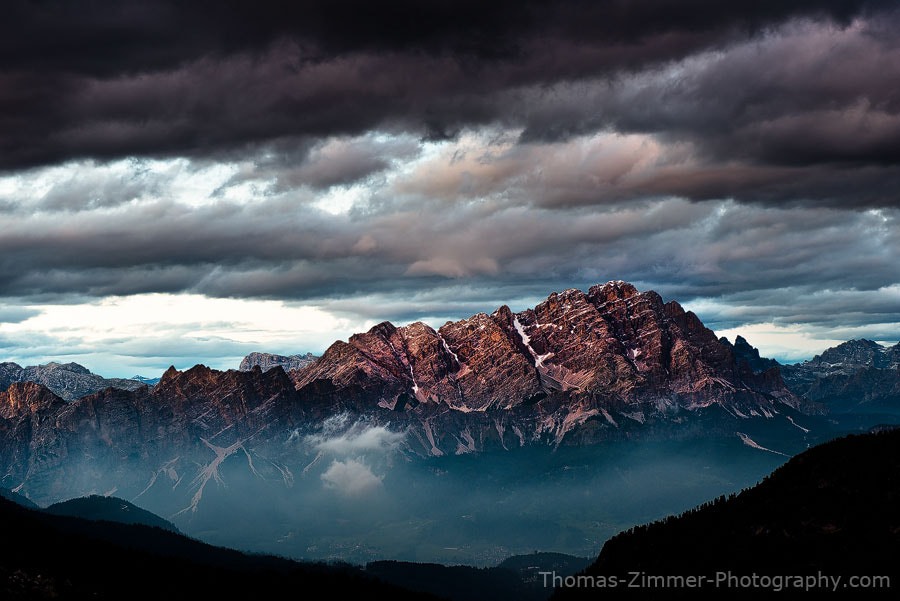 Photograph Monte Cristallo by Thomas Zimmer on 500px