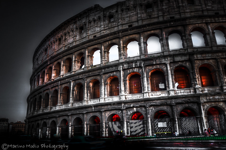 Photograph Colosseo by Marino Modio on 500px