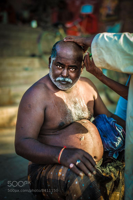 Photograph Street Barber by Soi Sam Rom SasinNakin on 500px