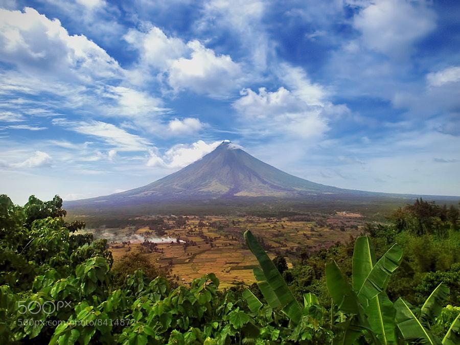 Photograph Mayon Volcano by Landz Enca on 500px