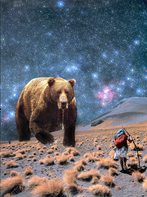 constelação ursa maior by iuri x