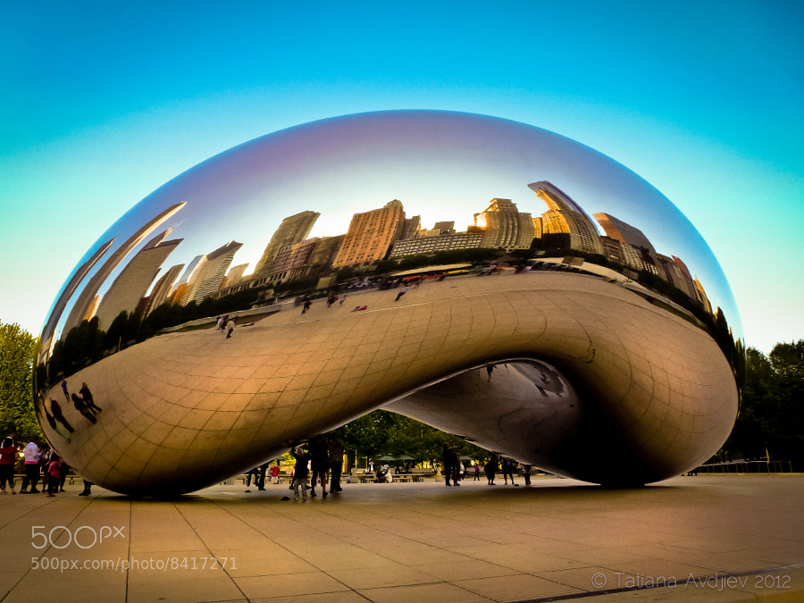 Photograph Chicago in a bean by Tatiana Avdjiev on 500px