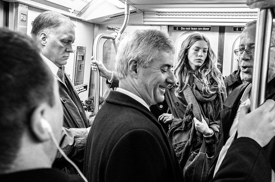 NY Subways - Hairs, Hands, Mouths