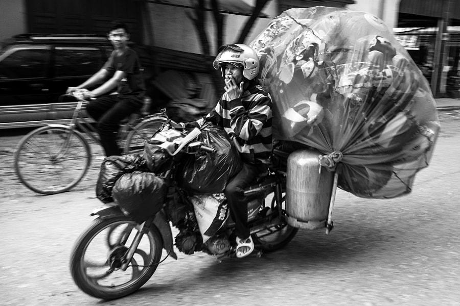 Cambodia biker