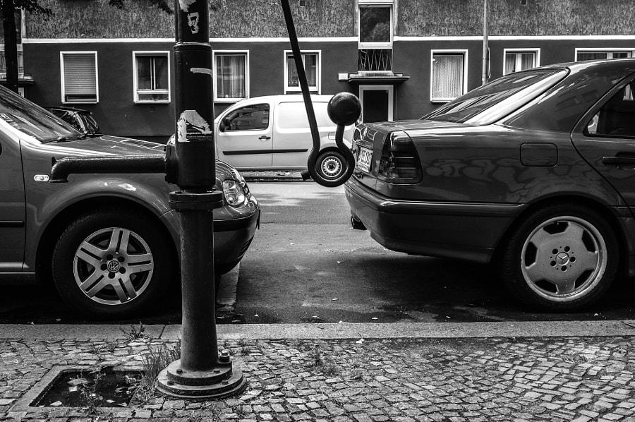 Cars Aligned Berlin