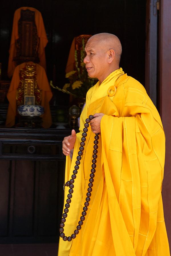 Monk in Hue