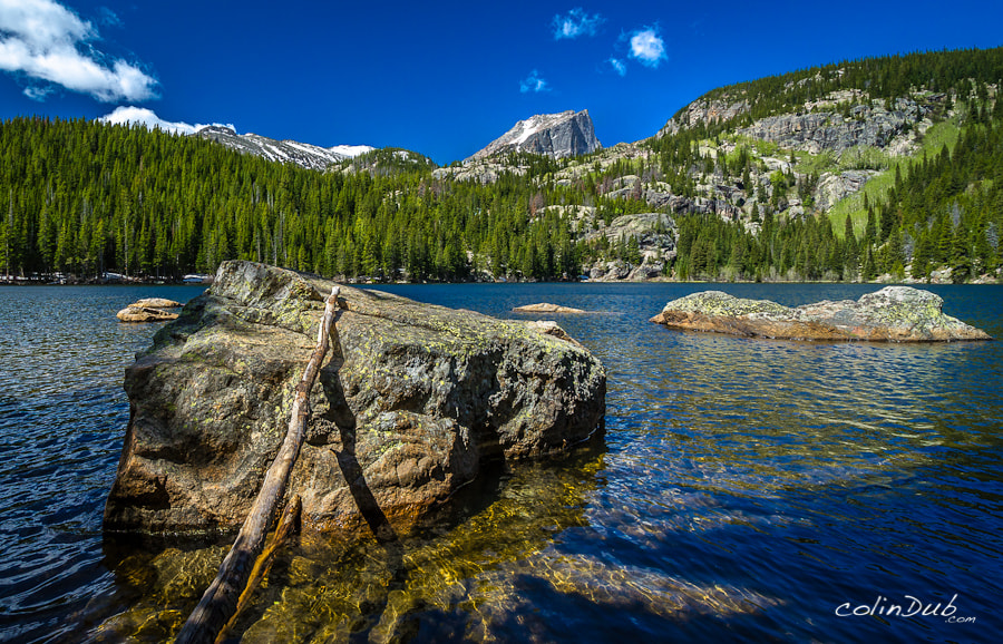 Photograph Blues of Bear Lake by Colin Wojno on 500px