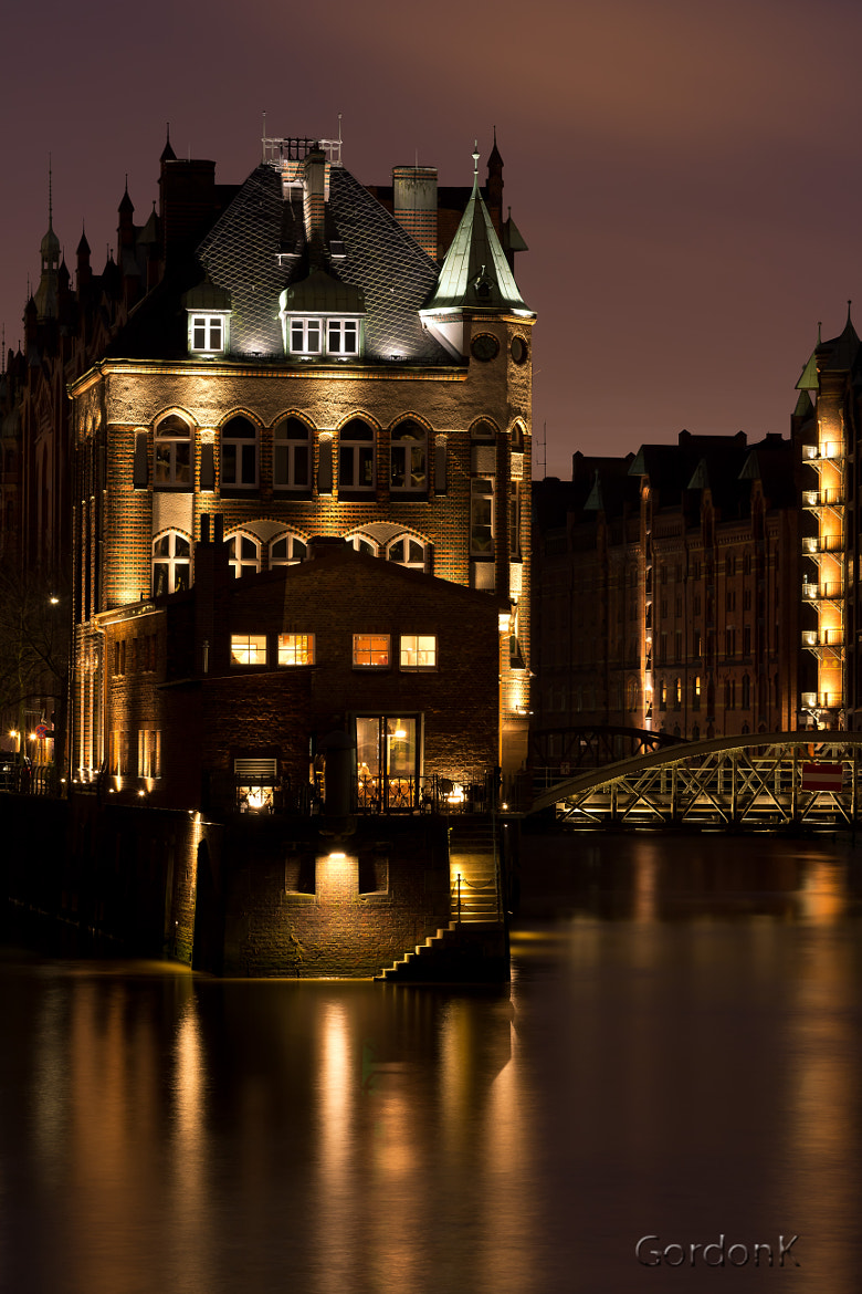 Photograph Watercastle Speicherstadt by Gordonk -Photography on 500px