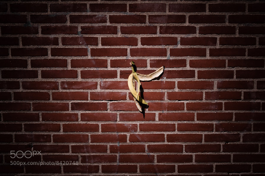Photograph Another banana peel in the wall by Nauris Pukis on 500px