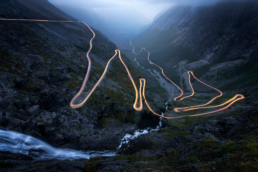 Photograph Norway , Trollstigen by pascal Kiszon on 500px