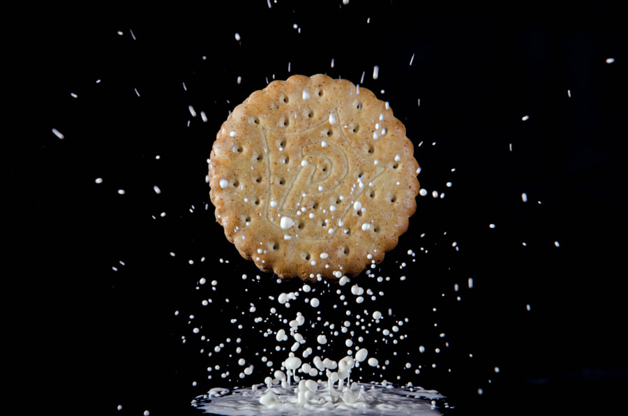 Photograph Cookie and Milk by Christian Merk on 500px