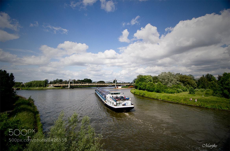 Photograph Schipdonkkanaal Merendree. by Marijke De Lange on 500px