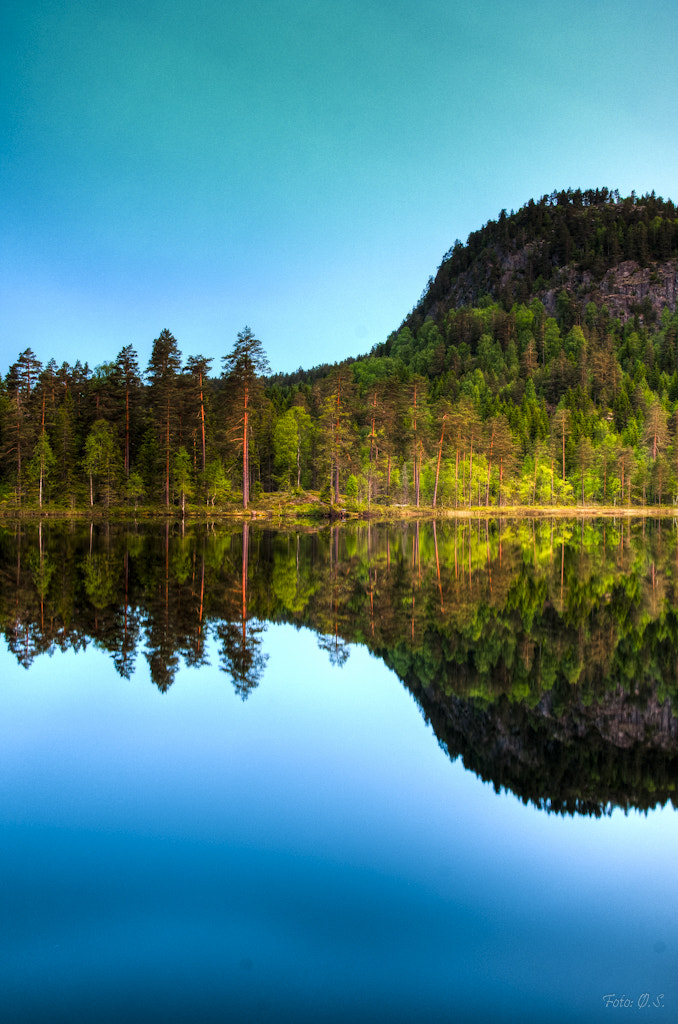 Photograph Mountain reflection 3, Norway by Øystein Sund on 500px