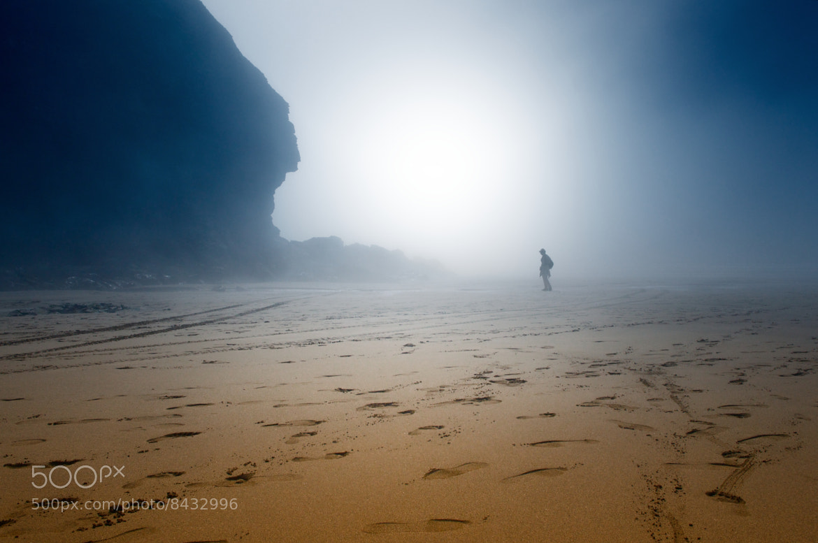 Photograph The misty beach by René Mederlet on 500px