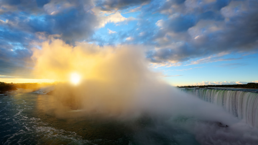 Sunrise at Niagara Falls by Viktor Elizarov on 500px.com