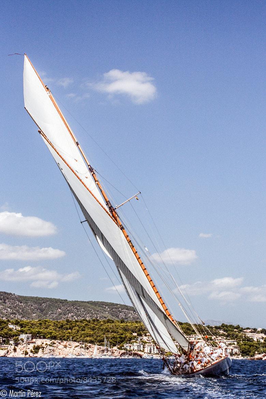 Photograph sailbot in Palma by Martín Pérez on 500px