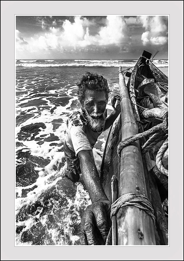 Photograph The old fisher man by Ashoke Kumar Ghosh on 500px