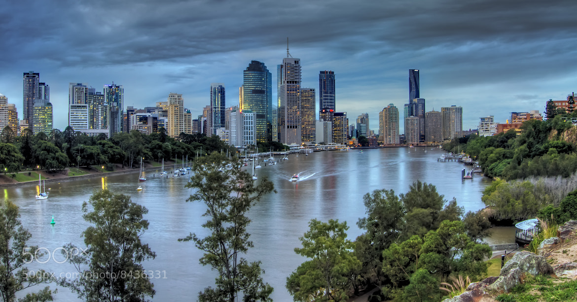 Photograph The River Commute by Mark Lucey on 500px
