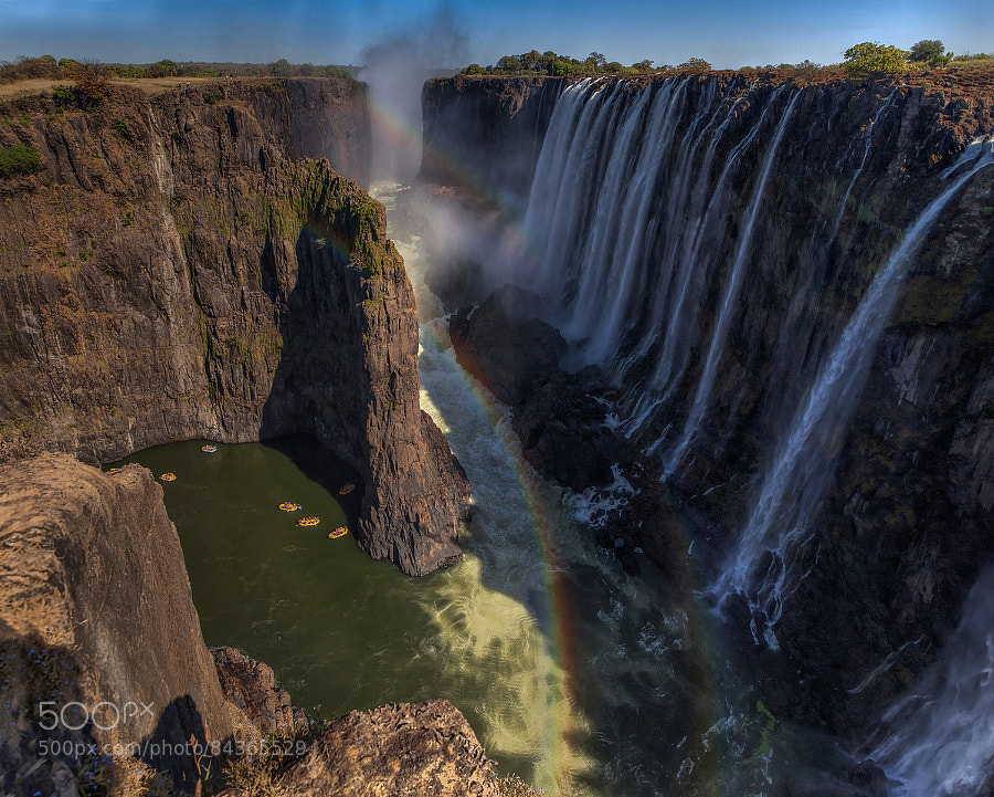 Victoria Falls by Night Gallery