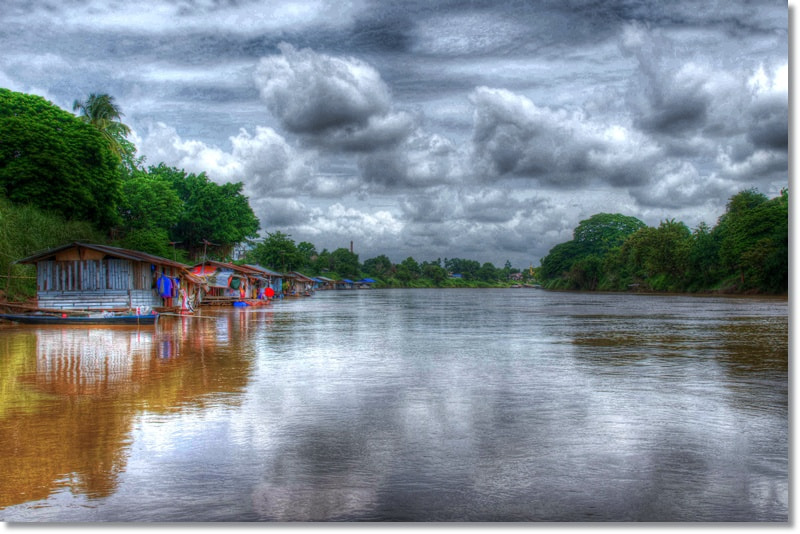 Photograph Nan River, Phitsanulok. by T K on 500px