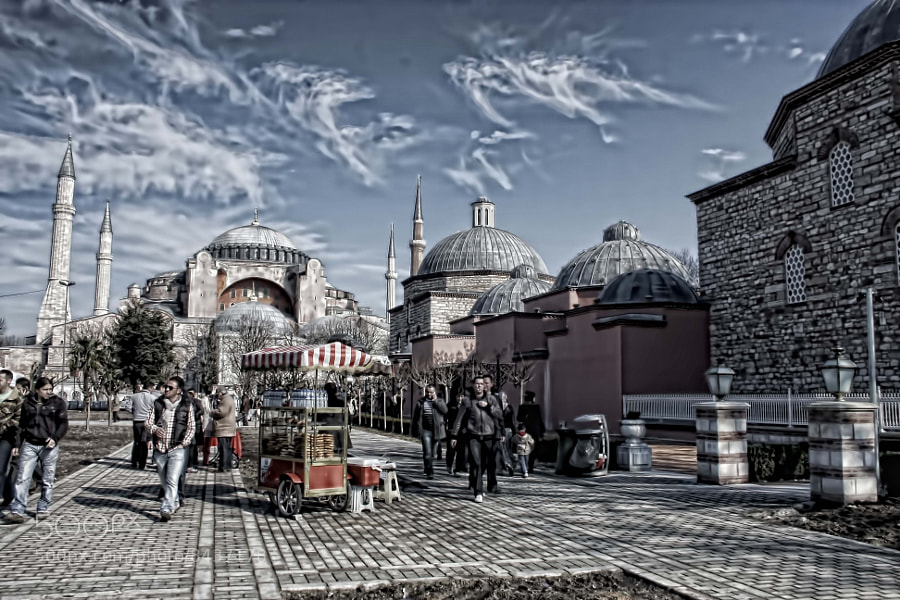 Photograph ayasofya by cenk bulut on 500px