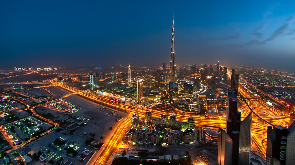 Photograph The Veins Of Dubai #4 by Daniel Cheong on 500px