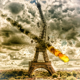 Paris in flames by Maddin Marny (Marny-Photography)) on 500px.com