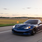 Постер, плакат: ScorchTV Chase Car: Chevy Corvette Z06