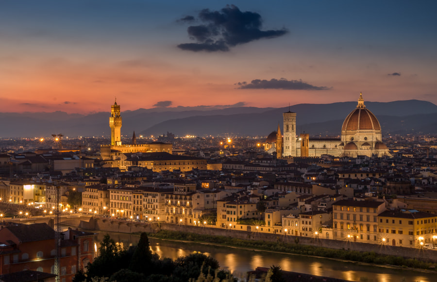 Photograph Evening in Florence by Daniel Nam on 500px