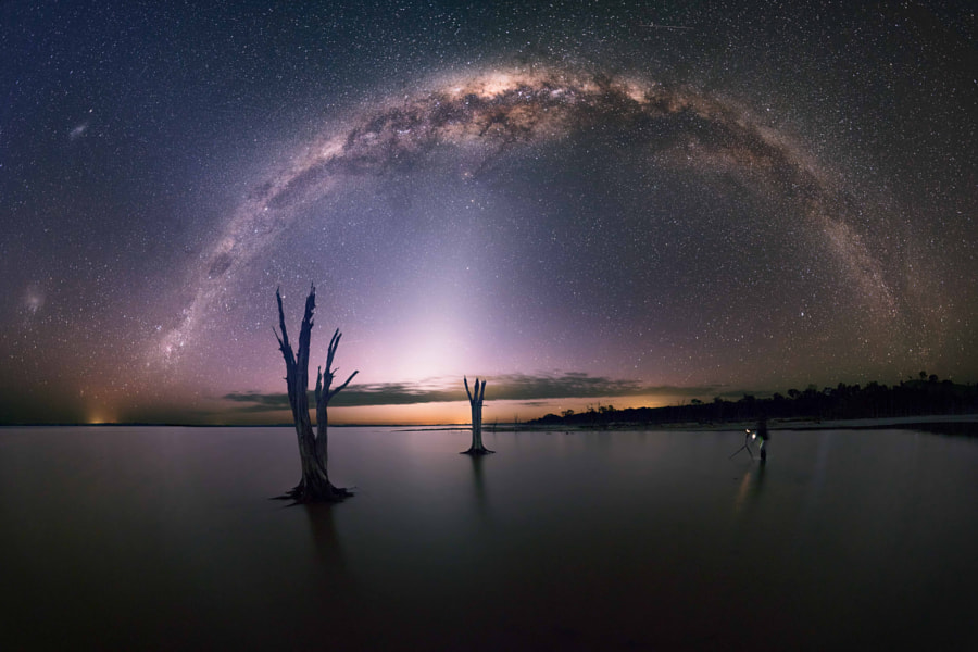 Photograph Celestial Bridge by Michael Goh on 500px
