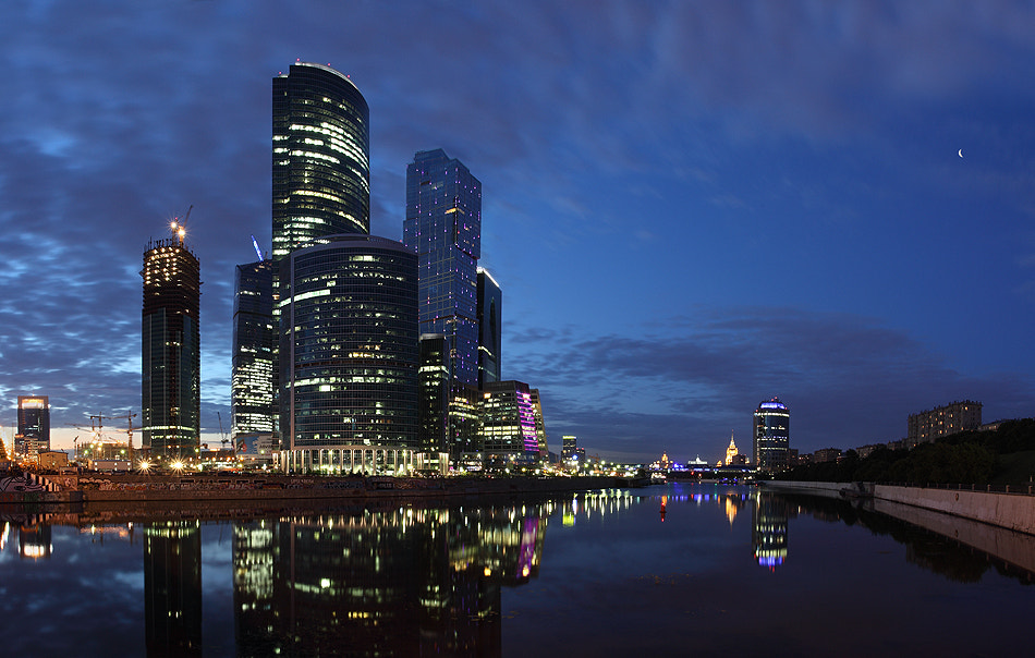 Photograph Moscow evening 2 by Victoria Ivanova on 500px