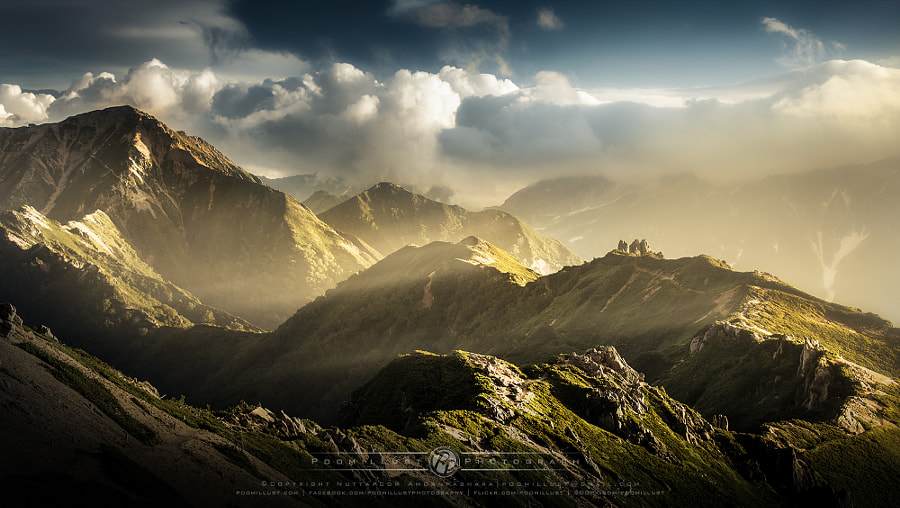 Japanese Alps by Nuttapoom Amornpashara on 500px.com